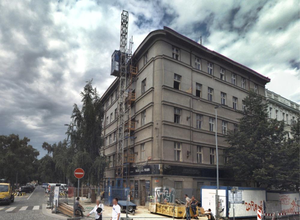 Pronájem bytu 3+kk (81,4 m2)/5.patro - Praha 6,